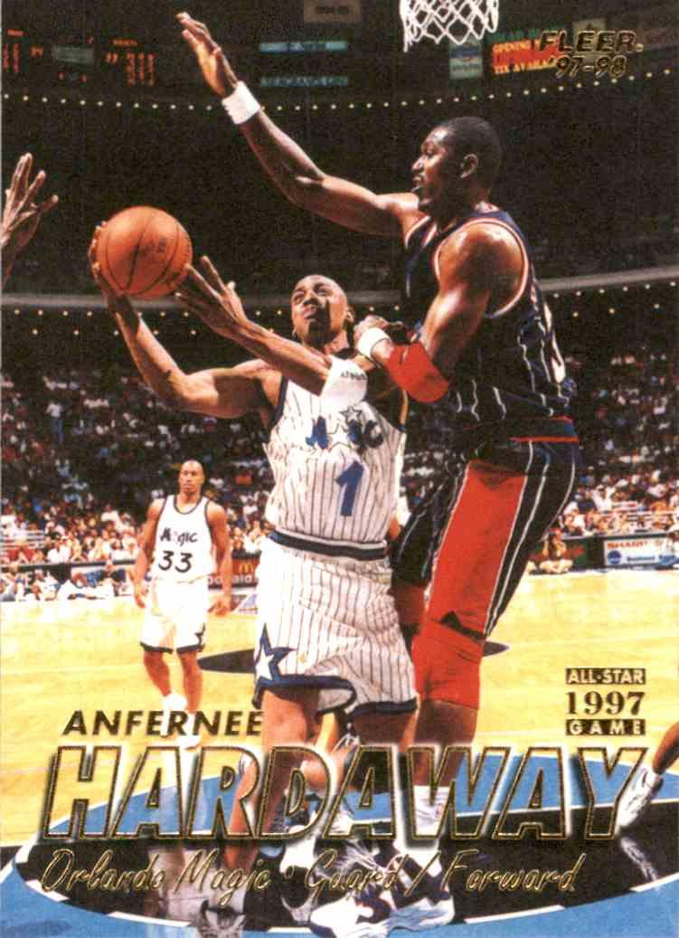 1997-98 Fleer Anfernee Hardaway #1 card front image