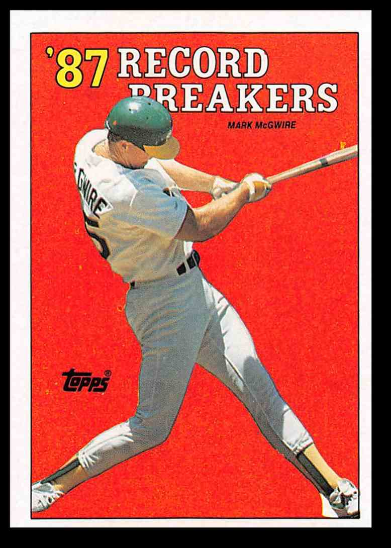 16 Mark Mcgwire Baseball Card Trading Cards For Sale