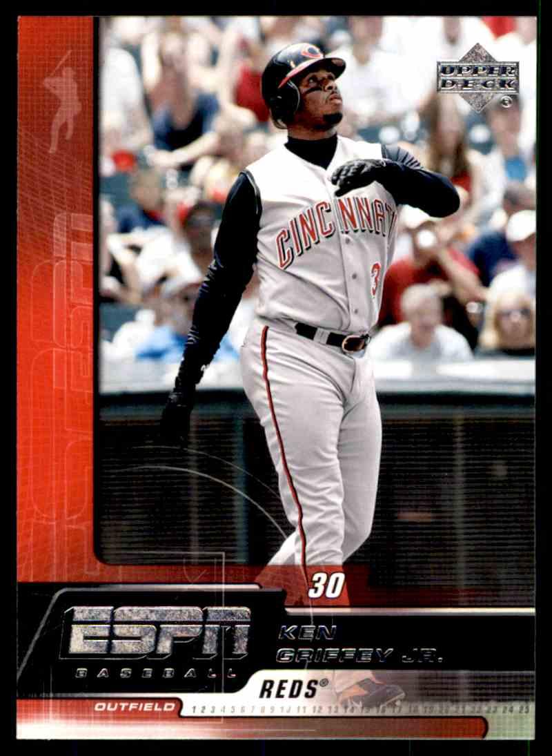 74b6422e0b 2005 Upper Deck ESPN Ken Griffey JR. #27 card front image