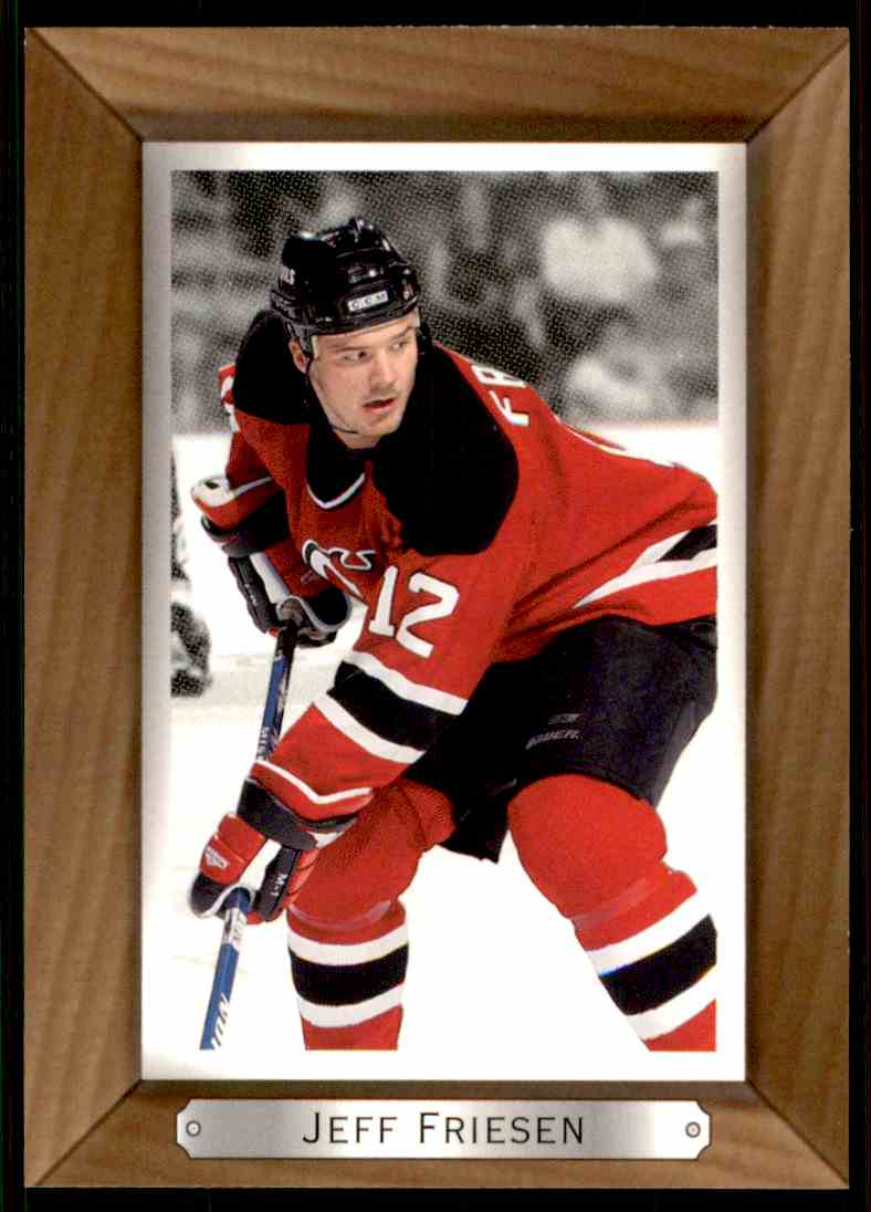 2003-04 Bee Hive Jeff Friesen #112 card front image