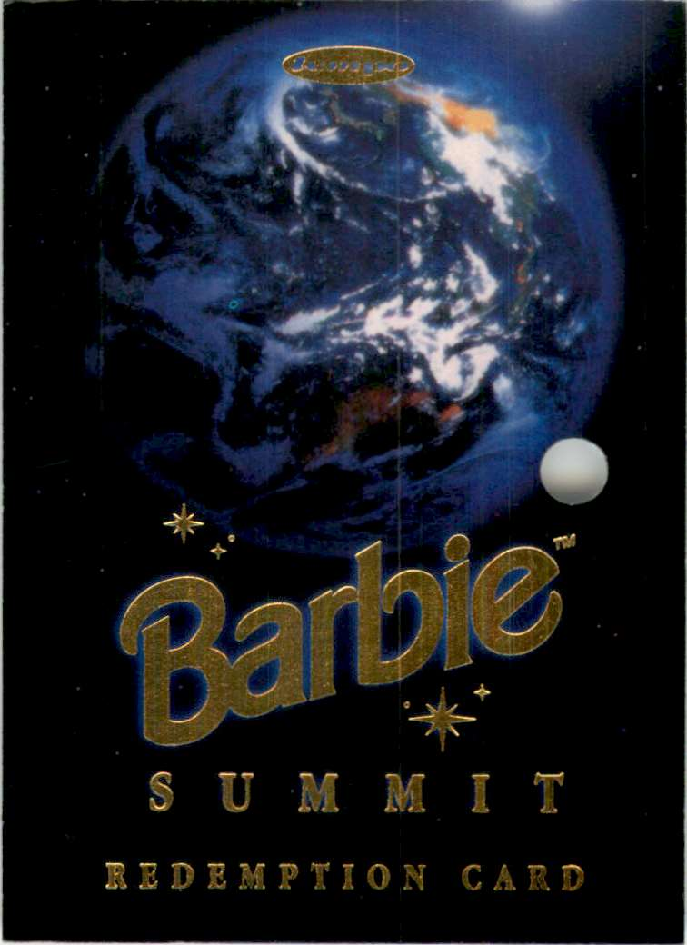 1997 World Of Barbie Summit Redemption Series Summit Redemption #SRC1 card front image