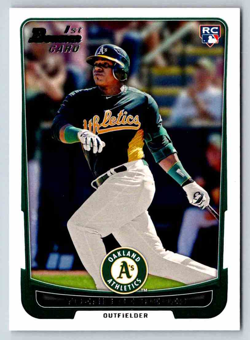 2012 Bowman Yoenis Cespedes #193 card front image