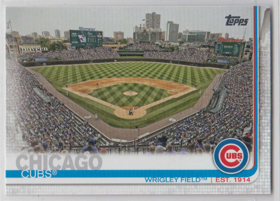 2019 Topps Wrigley Field Park #197 card front image