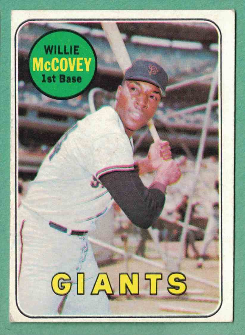 1969 Topps Willie McCovey EX #440 card front image