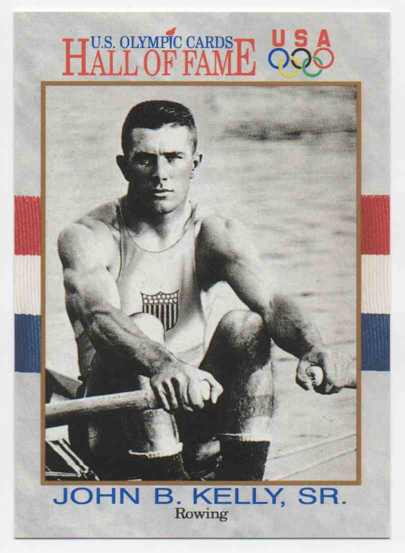 1991 Impel U.S. Olympic Hall Of Fame John Kelly Sr. #47 card front image
