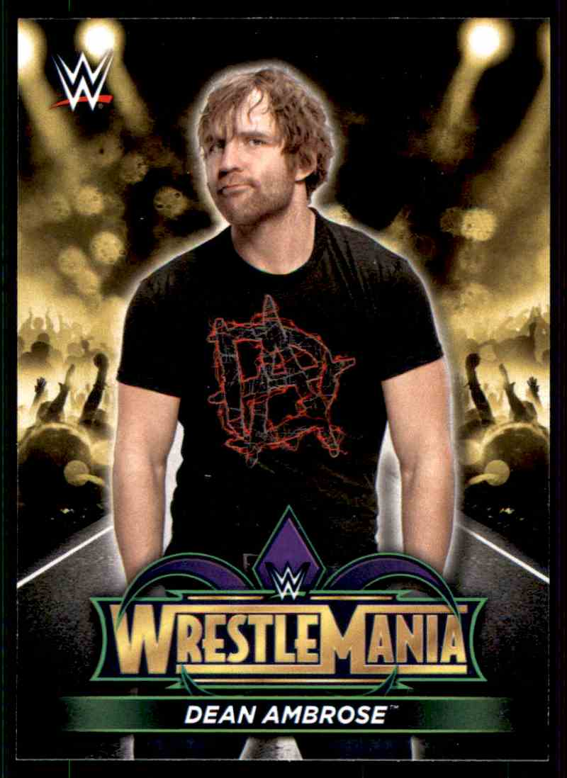 2018 topps wwe road to wrestlemania wrestlemania 34 roster cards