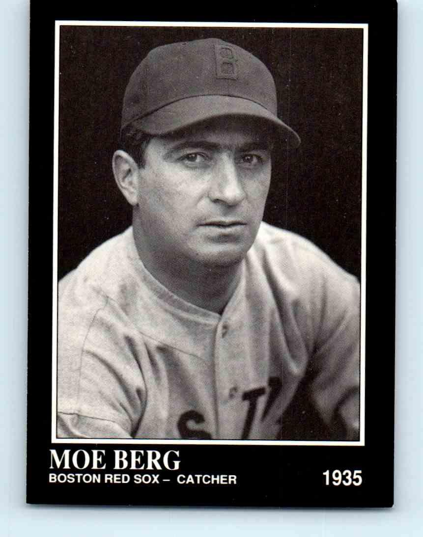 1992 Megacards Conlon Collection Moe Berg 184 On Kronozio