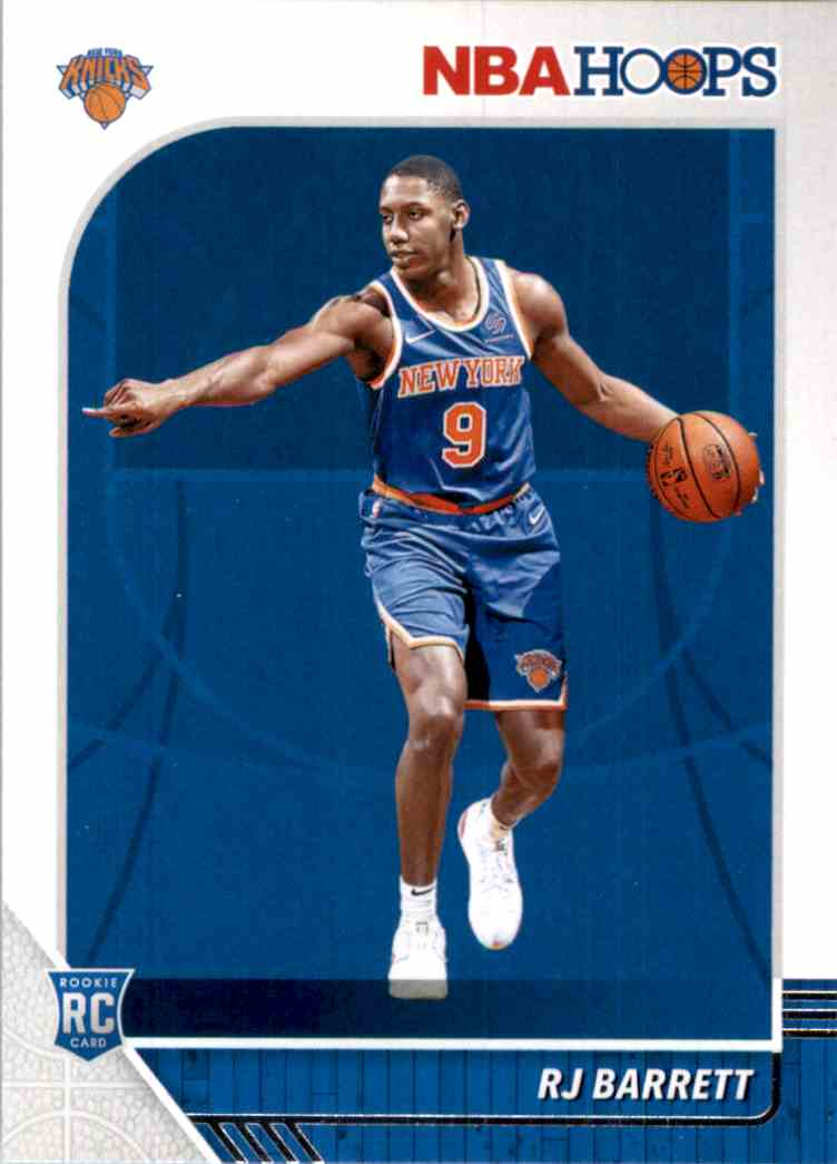 2019-20 Hoops Rj Barrett RC #201 card front image