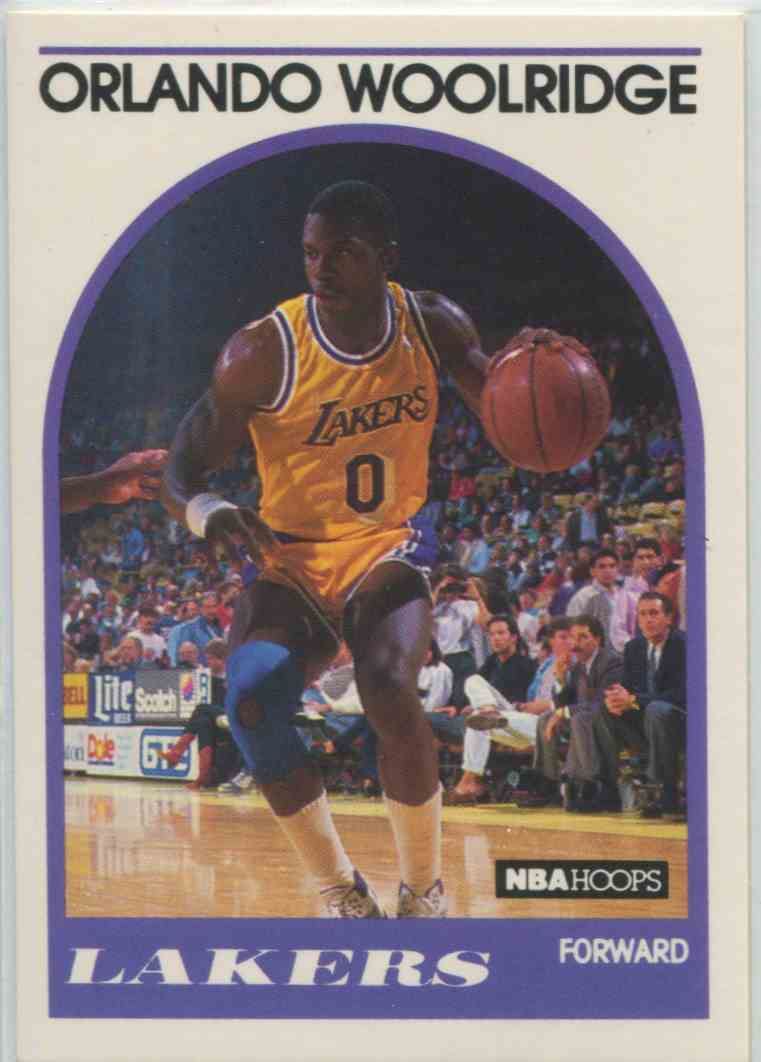 1989 90 NBA Hoops Orlando Woolridge 279 on Kronozio