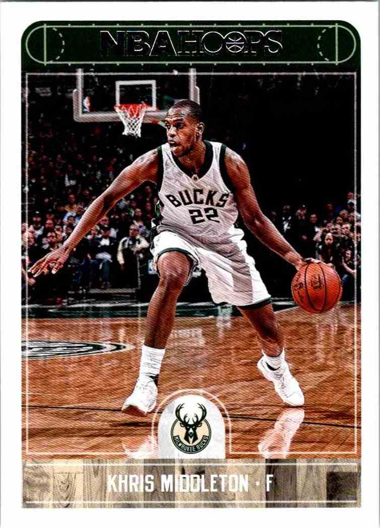 NBA Hoops Khris Middleton #14 on Kronozio