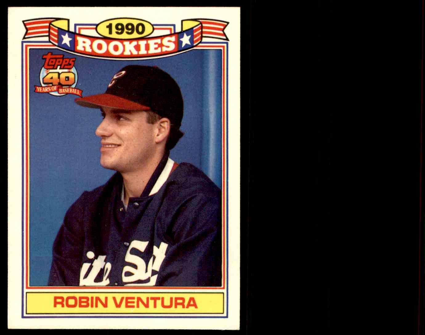 1990 Topps Robin Ventura 31 On Kronozio