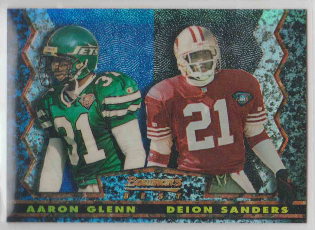 cheaper 8dccd 2fd3f 1994 Stadium Club Bowman's Best Aaron Glenn/Deion ...