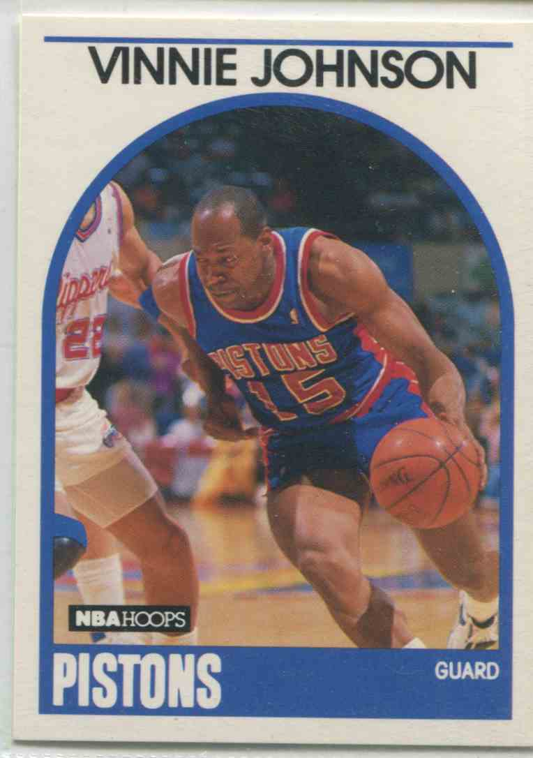 1989 90 NBA Hoops Vinnie Johnson 188 on Kronozio