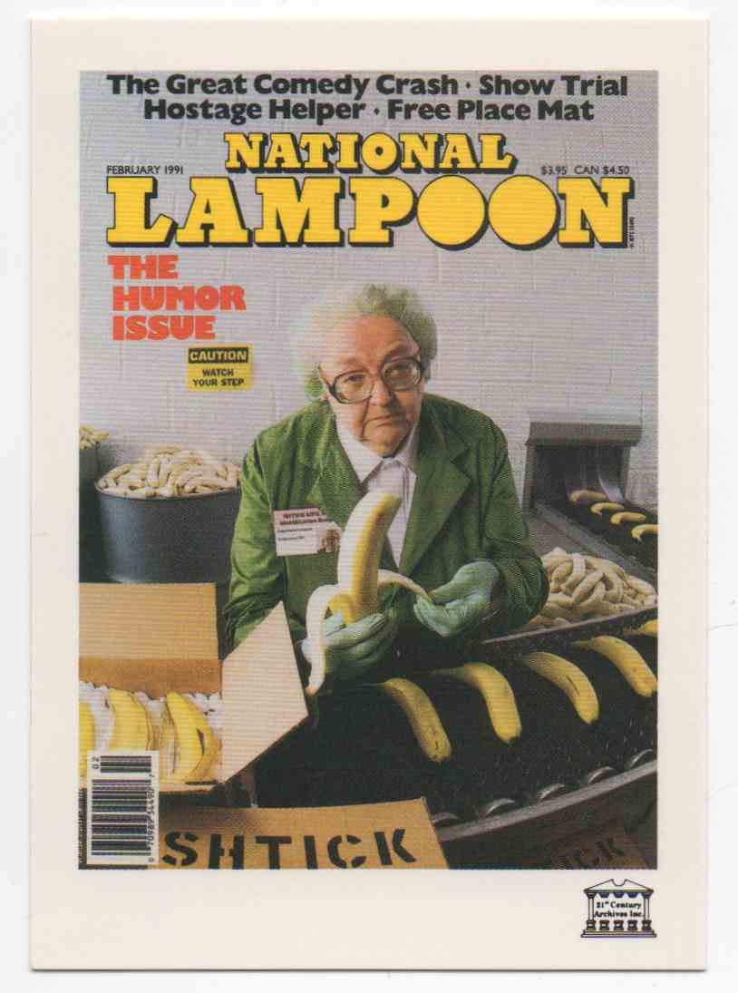 1993 National Lampoon April 1991 #98 card front image