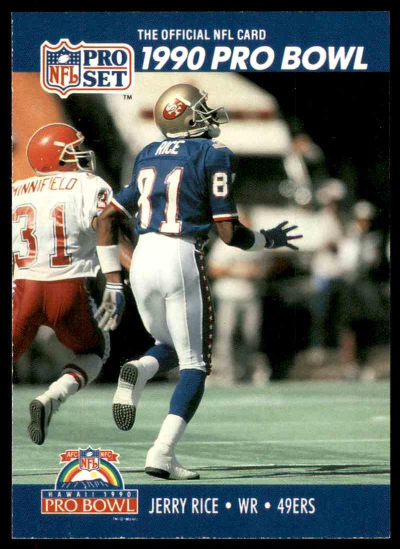 uk availability 36c42 c219d 1990 Pro Set Pro Bowl Jerry Rice #411 on Kronozio