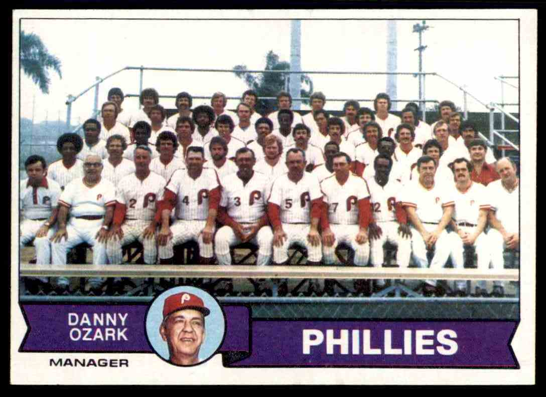Details About 1979 Topps Set Break Mint Team Checklist Philadelphia Phillies 112