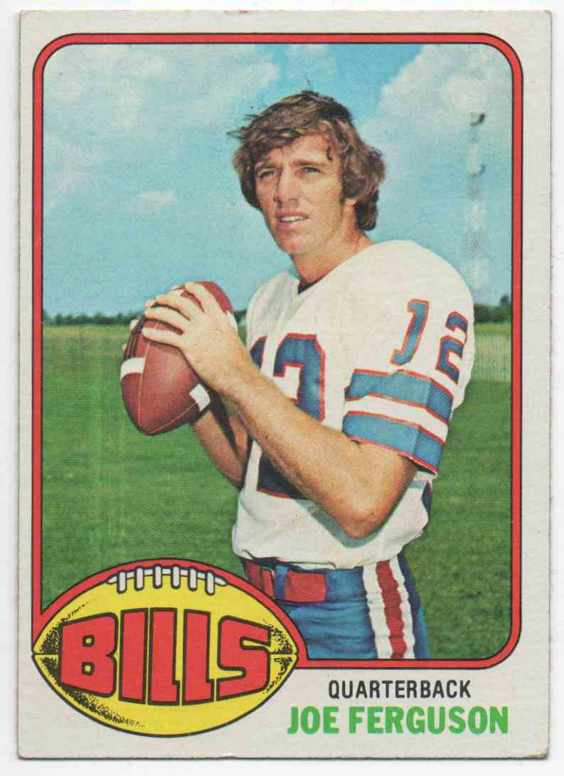 1976 Topps Joe Ferguson #48 card front image