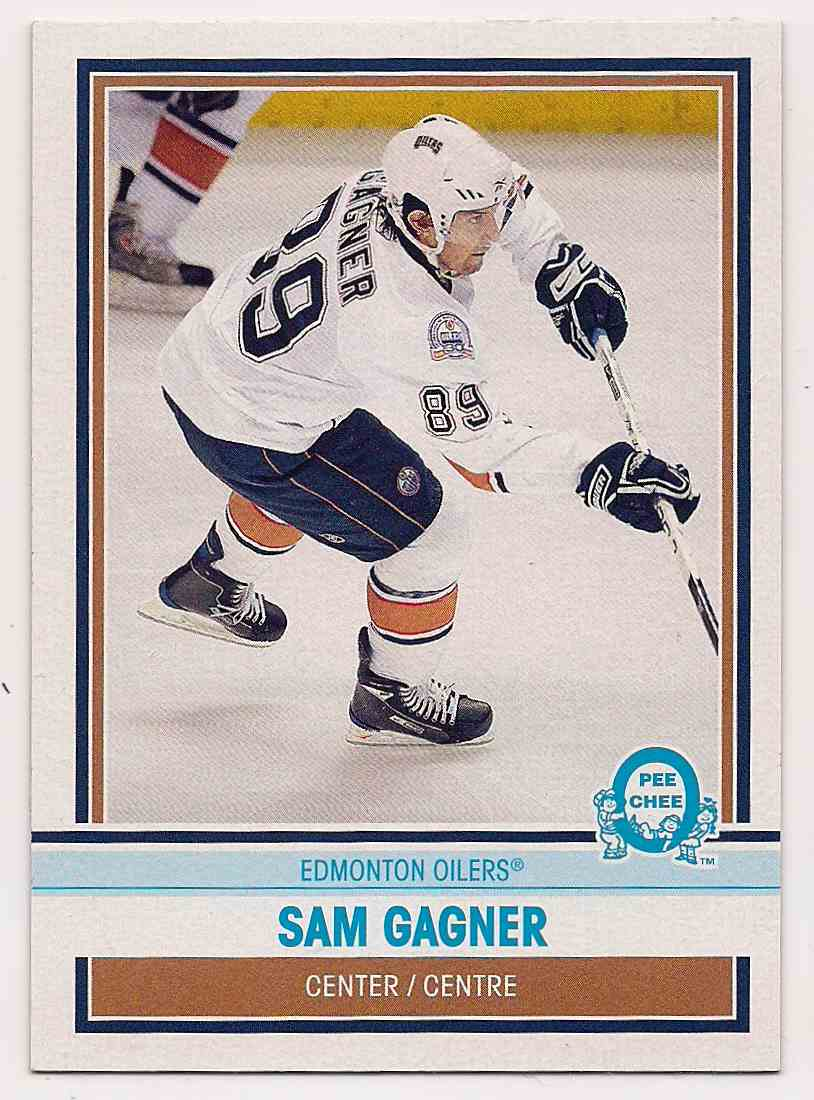 2009-10 0-Pee-Chee Retro Sam Gagner #65 card front image