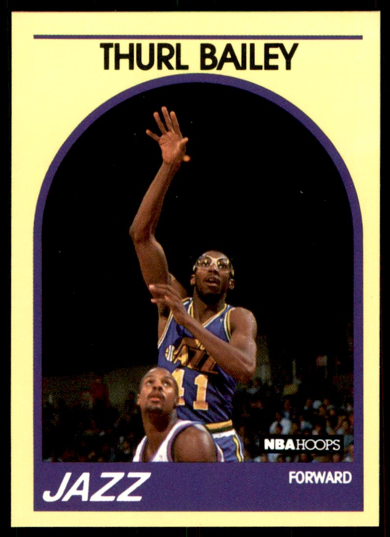 1989 90 Hoops 100 superstars Thurl Bailey 95 on Kronozio