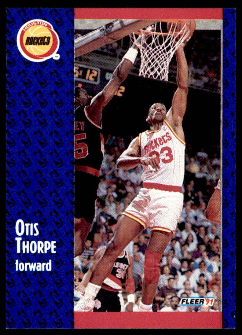 1991 92 Fleer Otis Thorpe 80 on Kronozio