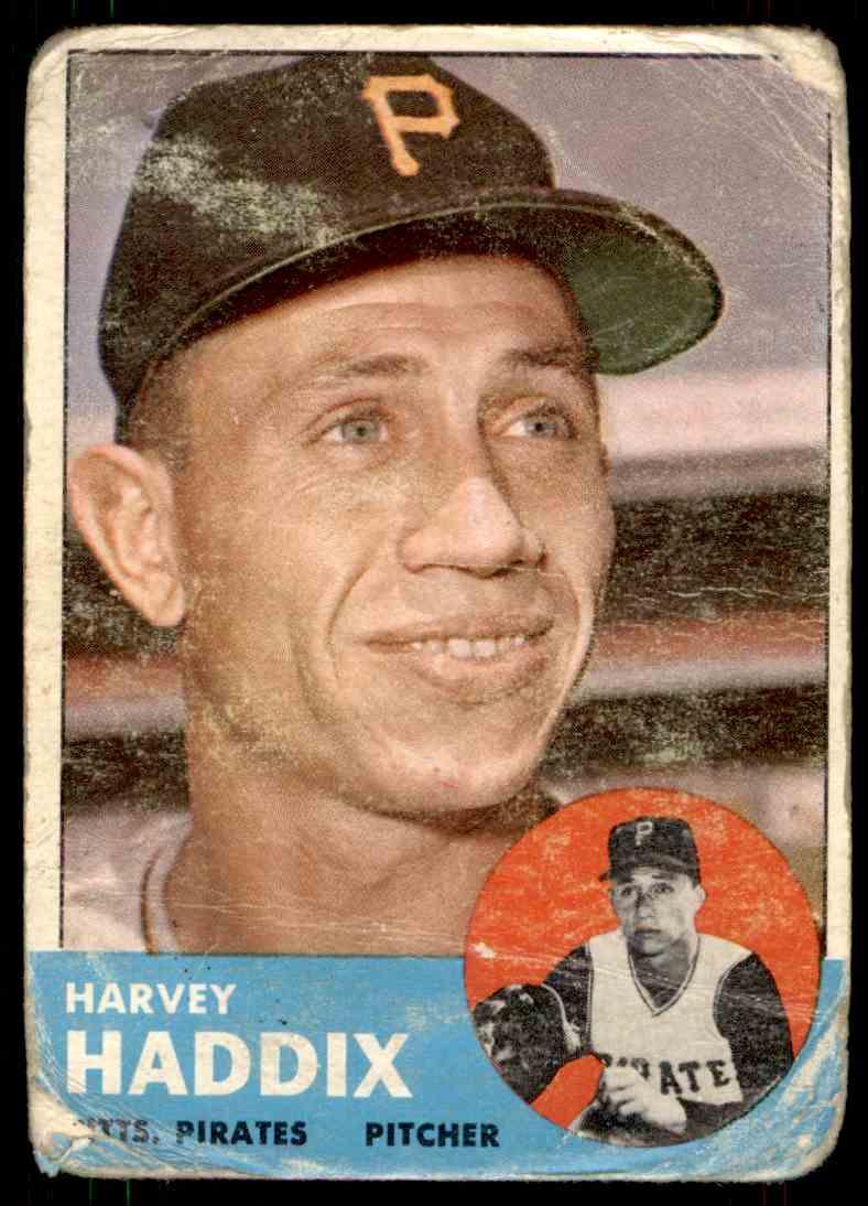 1963 Topps Harvey Haddix #239 card front image