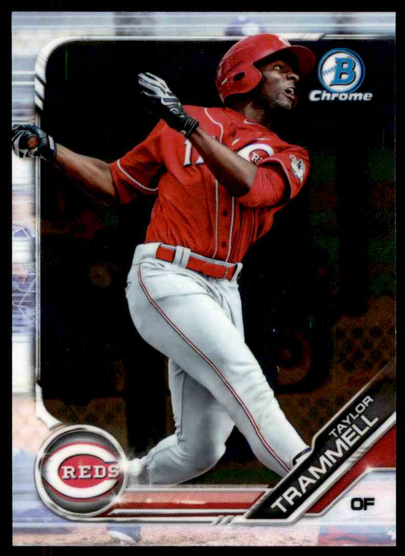 2019 Bowman Taylor Trammell #BCP-24 card front image