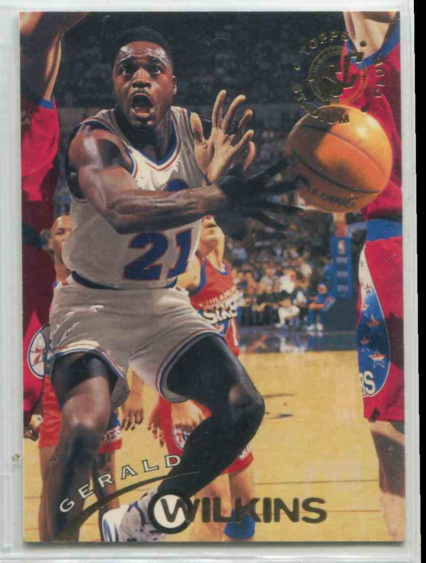 208 Gerald Wilkins trading cards for sale