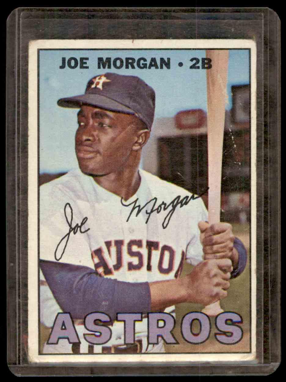 1967 Topps Joe Morgan #337 card front image