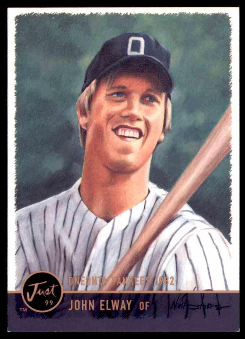 1999 Just Yankees John Elway On Kronozio