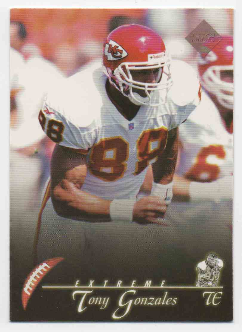 1997 Collectors Edge Extreme Tony Gonzalez #80 card front image