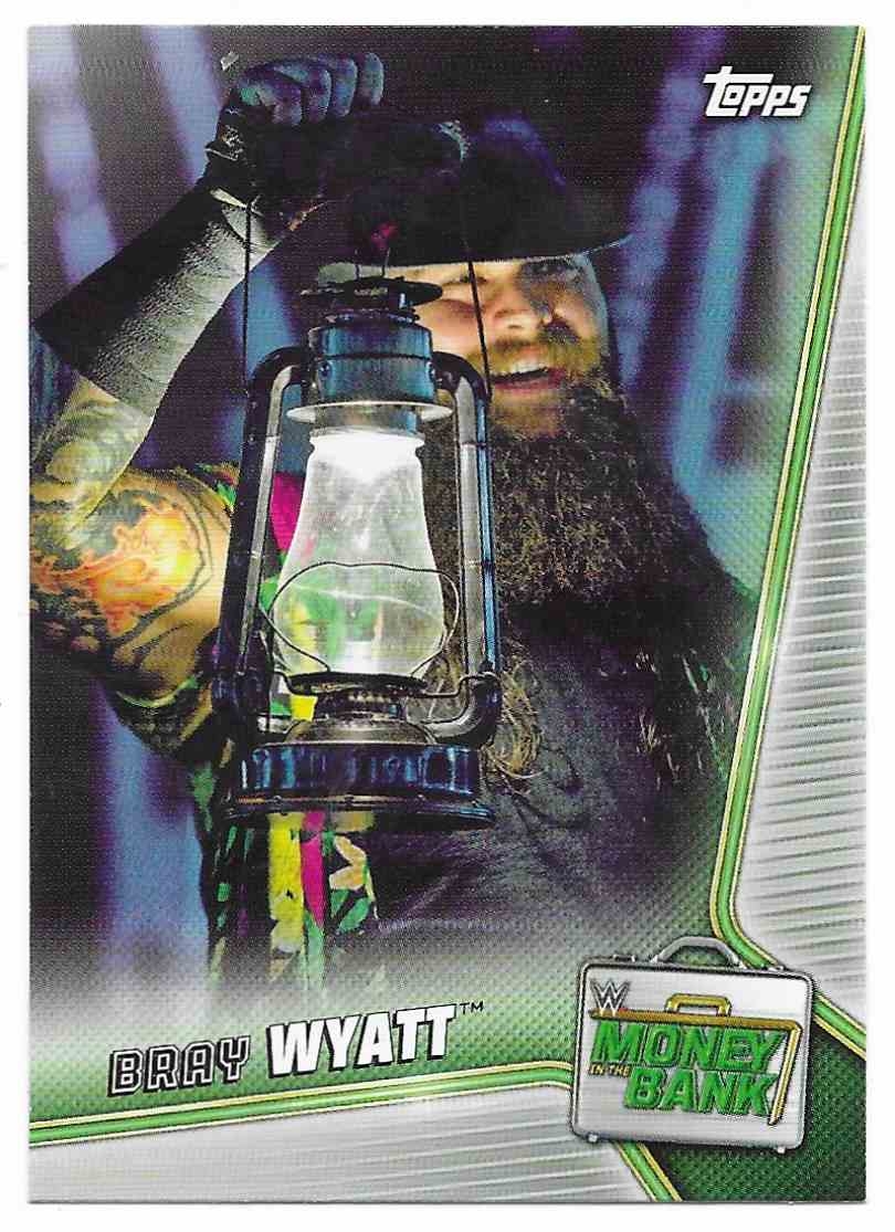 2019 Topps Wwe Money In Then Bank Bray Wyatt #19 card front image