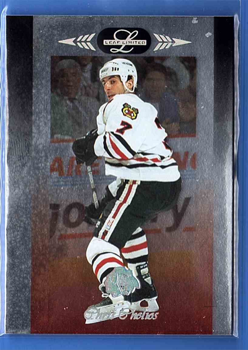1996-97 Leaf Limited Chris Chelios #1 card front image