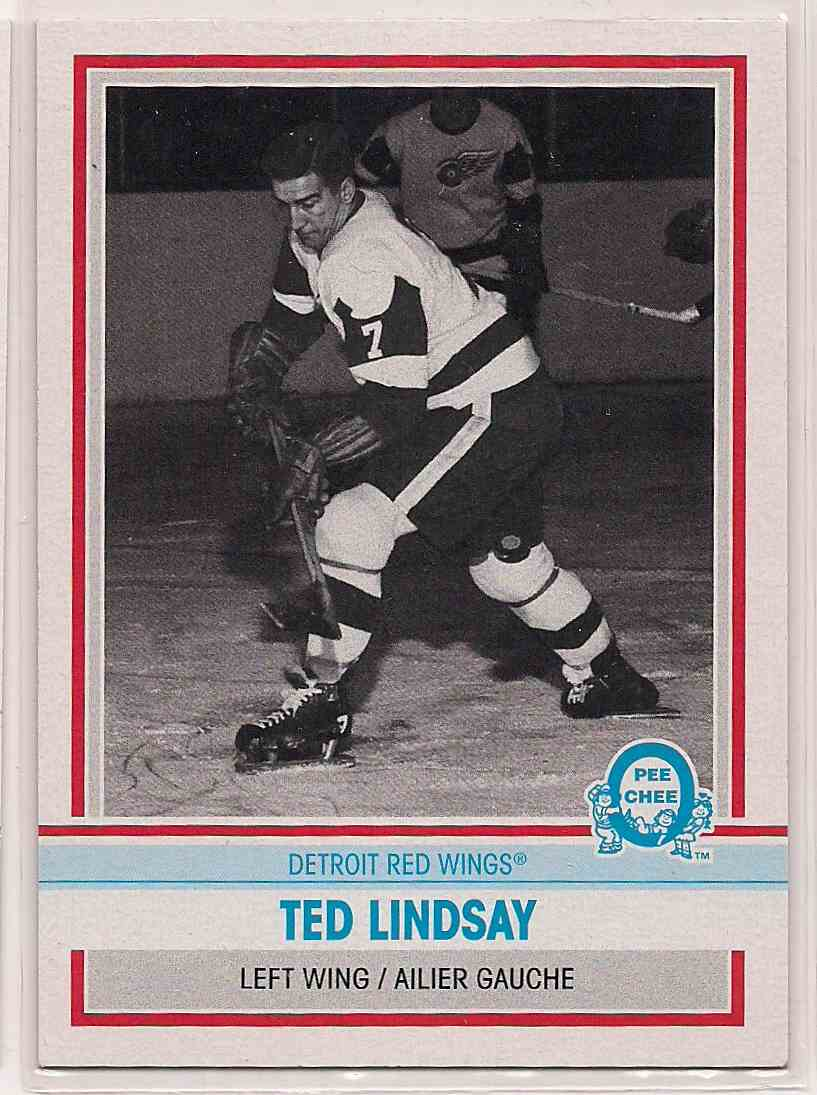 2009-10 0-Pee-Chee Retro Ted Lindsay #565 card front image