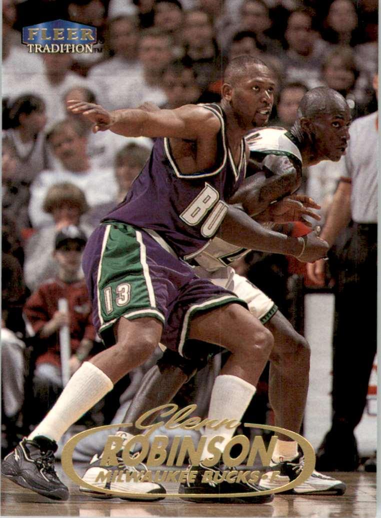 1998-99 Fleer Glenn Robinson #13 card front image