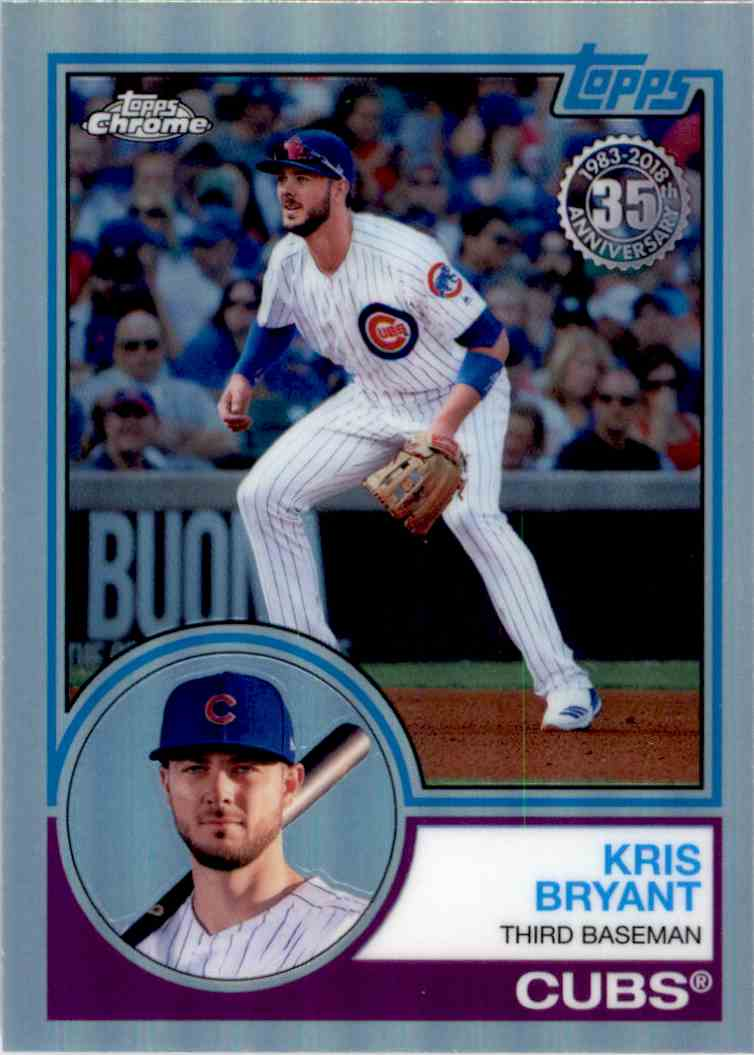 2019 Topps Series 1 Baseball 35th Anniversary 1984 84#T84-39 Anthony Rizzo Chicago Cubs
