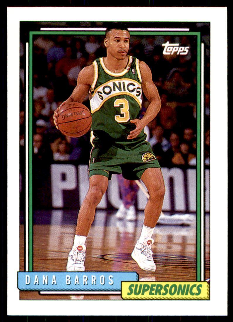 1992 93 Topps Dana Barros 58 on Kronozio
