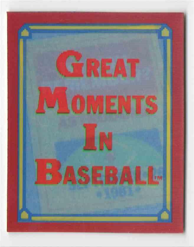 1988 Score Trivia Nolan Ryan #16 card front image