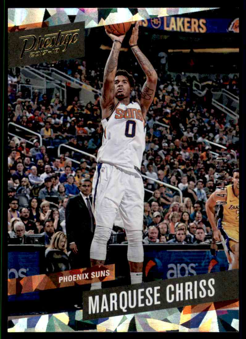 2017-18 Prestige Crystal Marquese Chriss #123 card front image