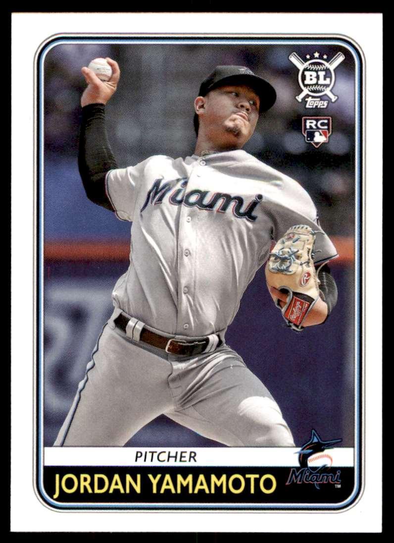 2020 Topps Big League Baseball Jordan Yamamoto #79 card front image