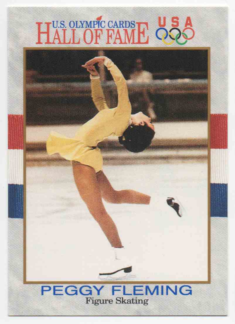 1991 Impel U.S. Olympic Hall Of Fame Peggy Fleming #16 card front image