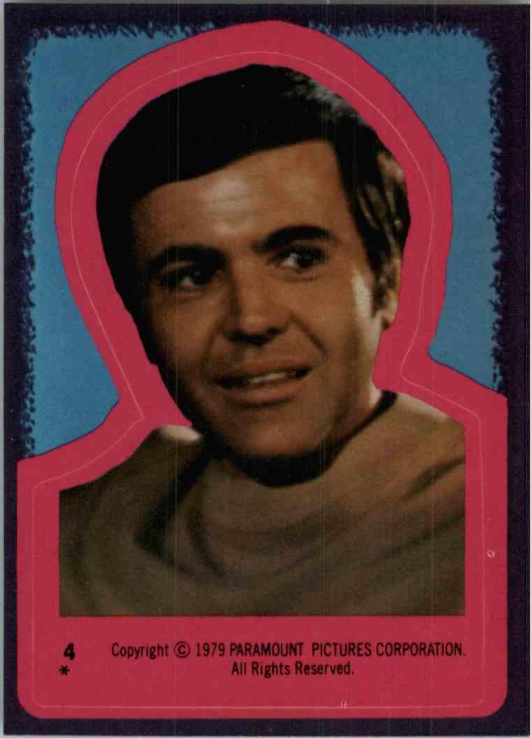 1979 Star Trek Security Chief Checkov #4 card front image