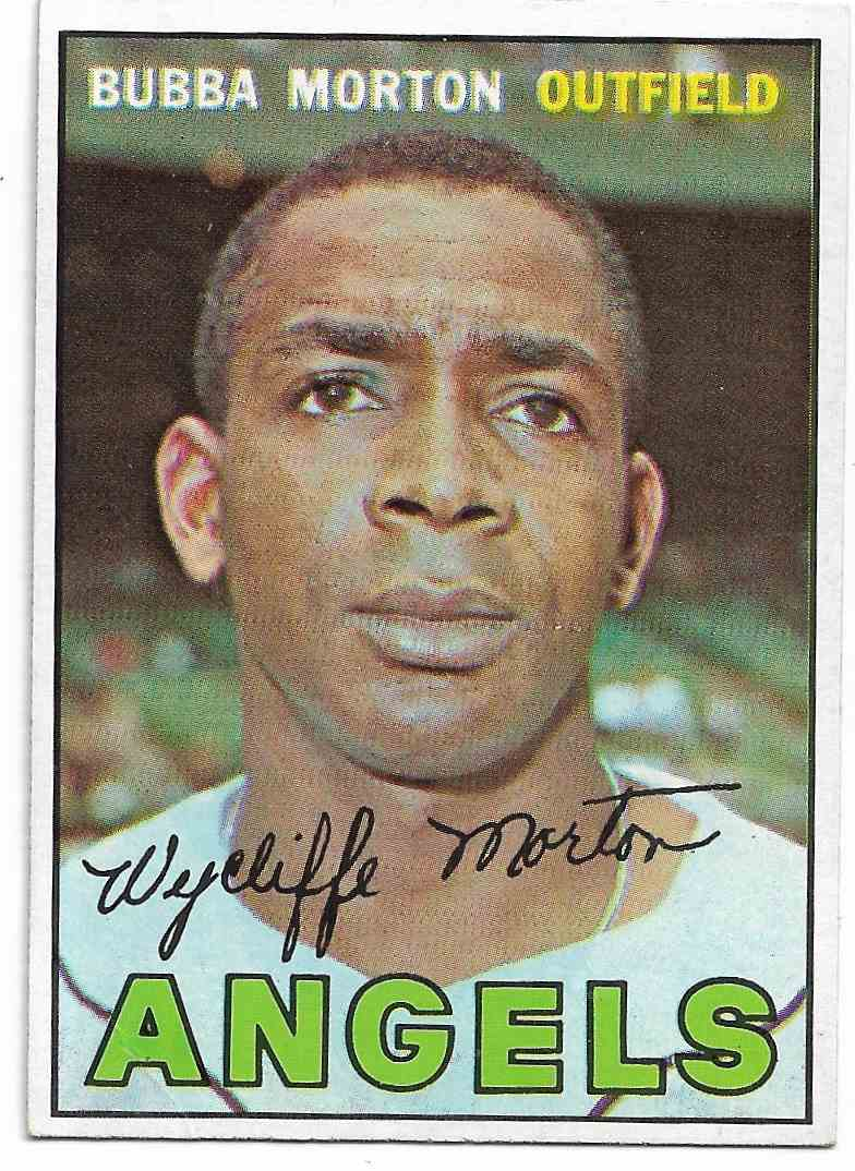 1967 Topps Bubba Morton #79 card front image