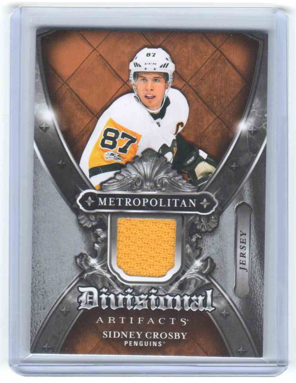 2018-19 Upper Deck Artifacts Divisional Artifacts Sidney Crosby #DA-SC card front image