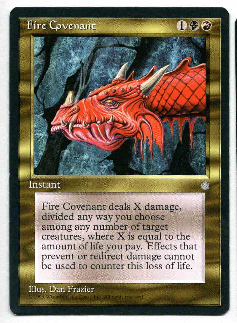 1995 Ice Age Fire Covenant card front image