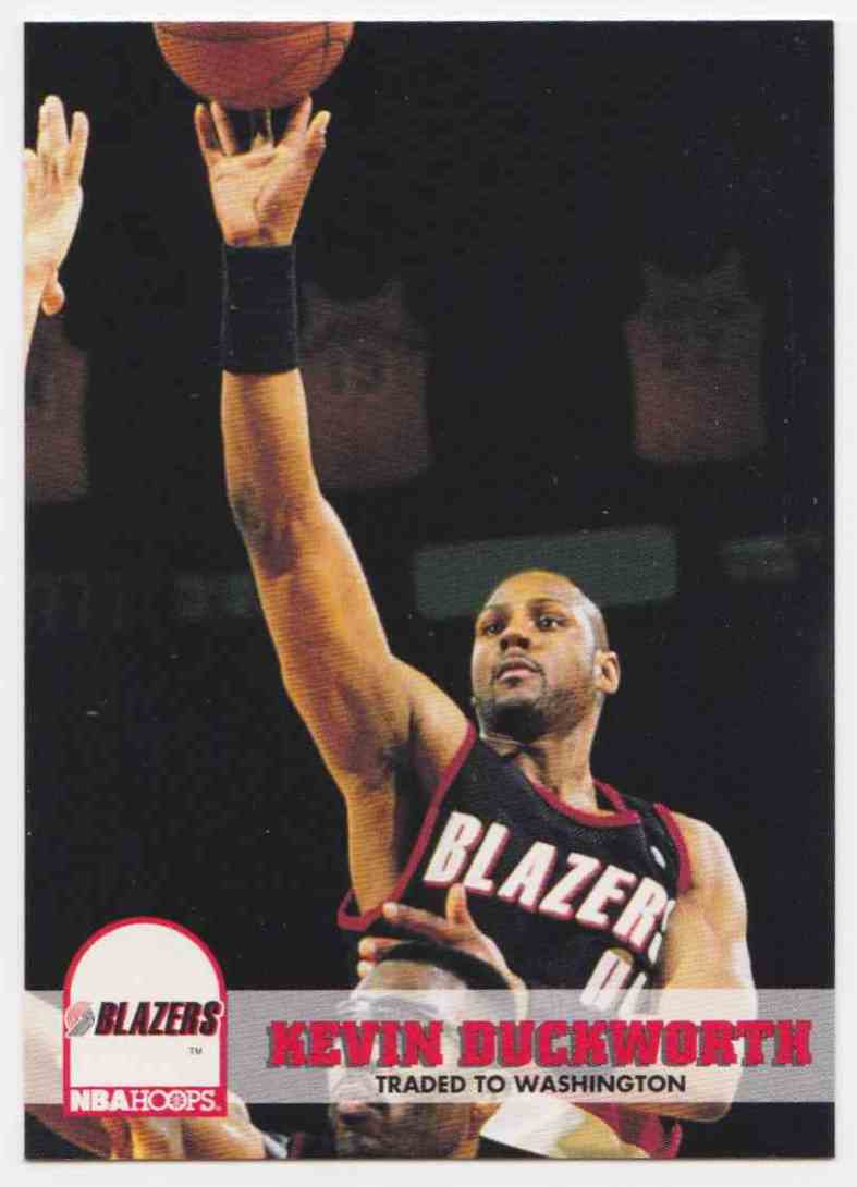 1993 94 NBA Hoops Base Kevin Duckworth 177 on Kronozio
