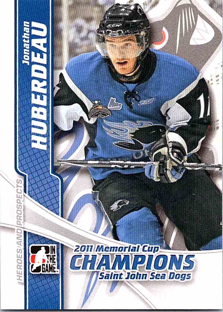 4a0253693 2011-12 ITG Heroes And Prospects Memorial Cup Champions Jonathan Huberdeau   MC-01