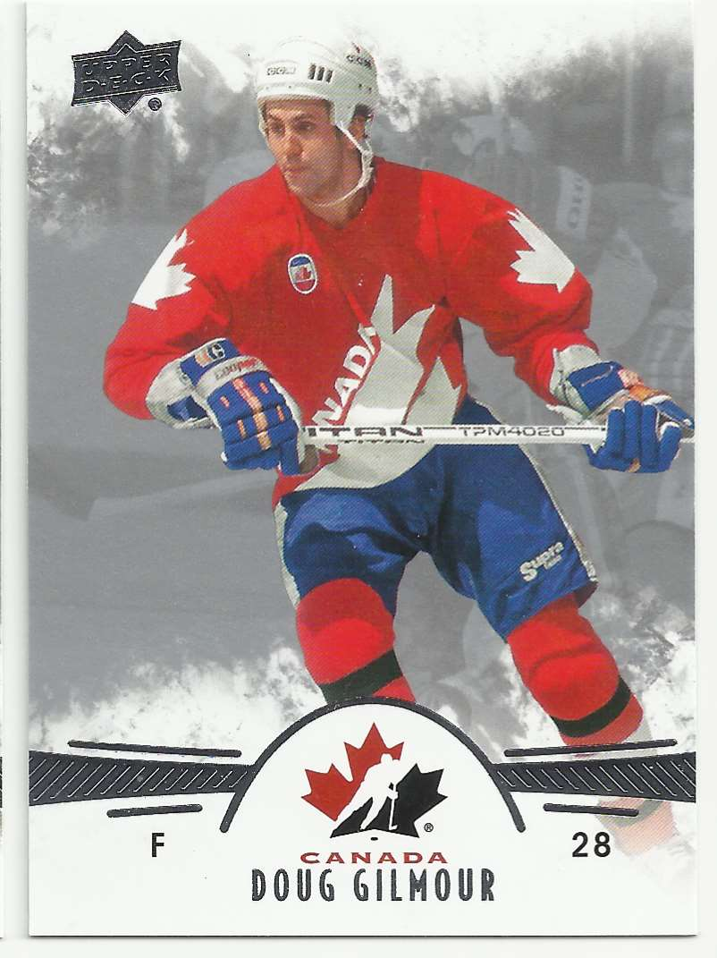 2016-17 Upper Deck Team Canada Juniors Doug Gilmour #91 card front image