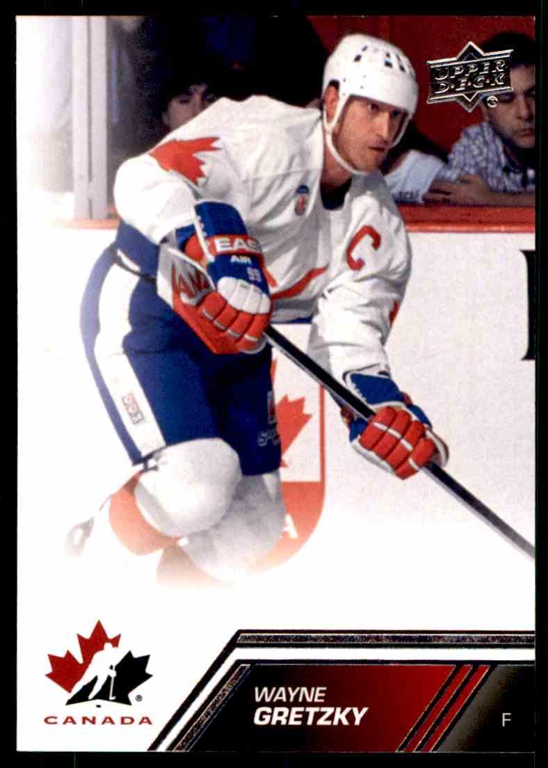2013-14 Upper Deck Team Canada Wayne Gretzky #192 card front image