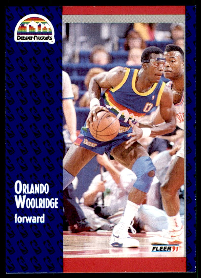 151 Orlando Woolridge trading cards for sale