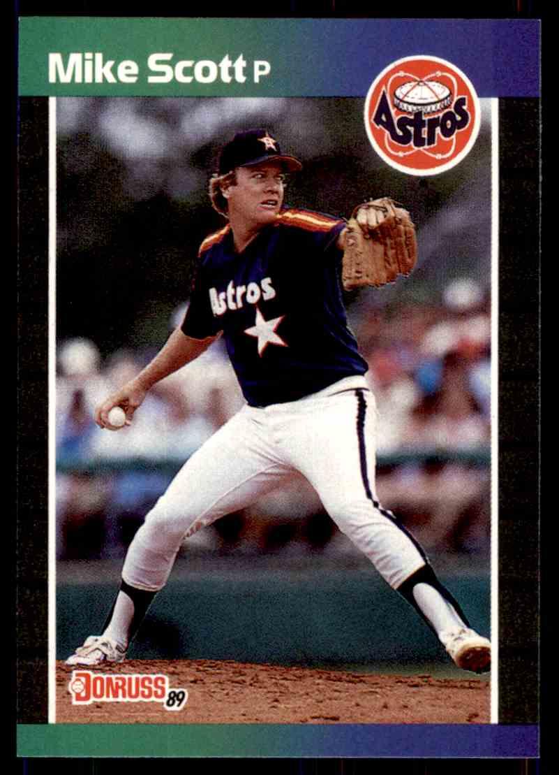 1989 Donruss Baseball Mike Scott 69 On Kronozio